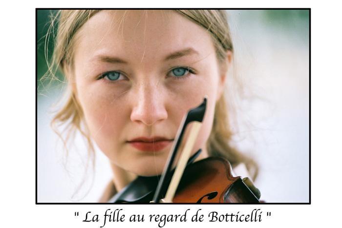 Marc Acquaviva - la fille au regard de Botticelli