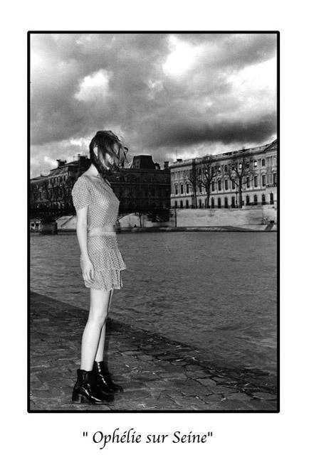 Marc Acquaviva - Ophélie sur Seine